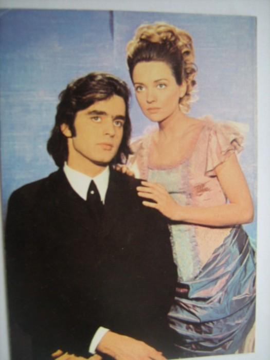 Tamara Cretulescu and Vlad Radescu in Ciprian Porumbescu (1973)