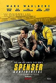 Mark Wahlberg and Winston Duke in Spenser Confidential (2020)