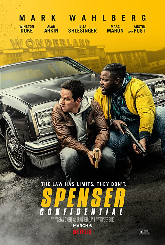 Mark Wahlberg and Winston Duke in Spenser Confidential (2020)