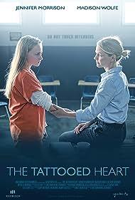 Jennifer Morrison, Sheldon Wong Schwartz, and Madison Wolfe in The Tattooed Heart (2019)