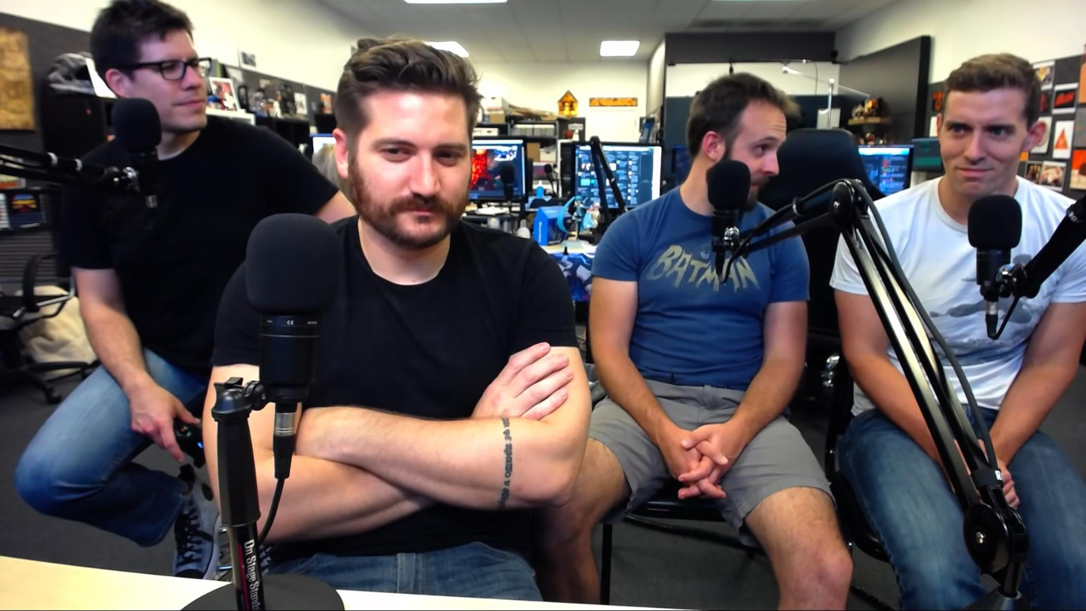 Funhaus 2015 Recently, he auditioned for the role of toiler #4 for the upcoming game psychonauts 2. funhaus 2015