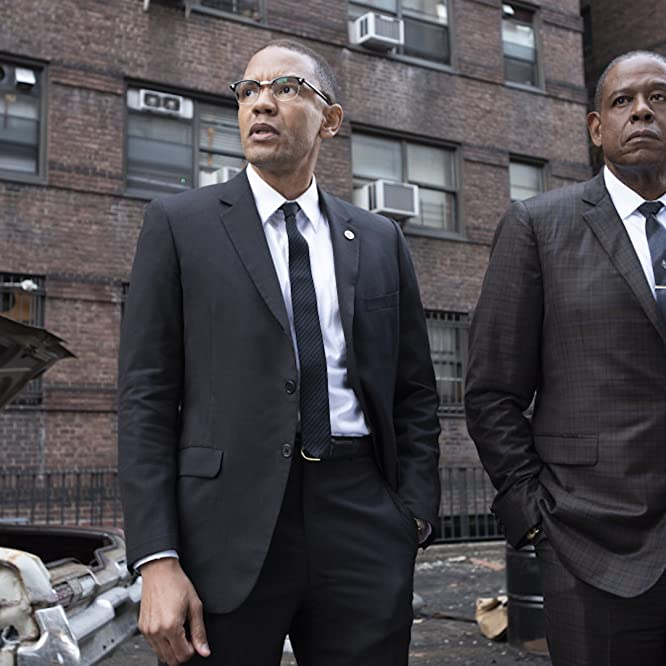 Forest Whitaker and Nigel Thatch in Godfather of Harlem (2019)