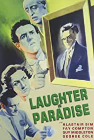 George Cole, Fay Compton, Hugh Griffith, Guy Middleton, and Alastair Sim in Laughter in Paradise (1951)