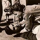 Titika Gaitanou and Vangelis Ploios in To koritsi tis amartias (1958)