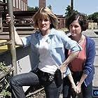Leslie Trentalange and Stephanie Eaton in Code 13: Unreadable (2021)