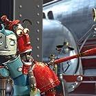 Ewan McGregor and Robin Williams in Robots (2005)