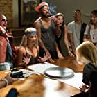 Still of Dante, Rebekah Kochan, Jevon Dismuke, Ali Rose, and Becca Hardy in Bro, What Happened (2014)