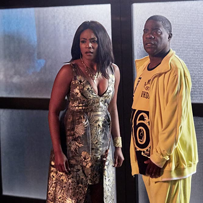 Tracy Morgan and Tiffany Haddish in The Last O.G. (2018)