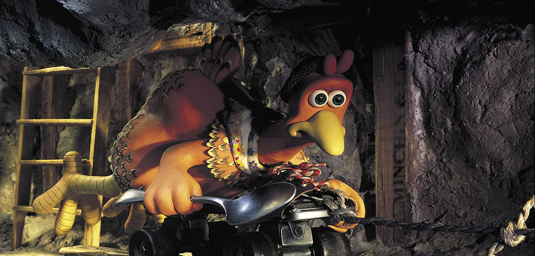 Julia Sawalha in Chicken Run (2000)