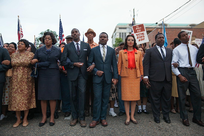Lorraine Toussaint, Colman Domingo, Carmen Ejogo, David Oyelowo, Wendell Pierce, and Stephan James in Selma (2014)