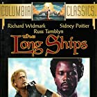Sidney Poitier and Richard Widmark in The Long Ships (1964)