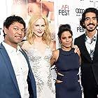 Nicole Kidman, Dev Patel, Priyanka Bose, and Saroo Brierley at an event for Lion (2016)