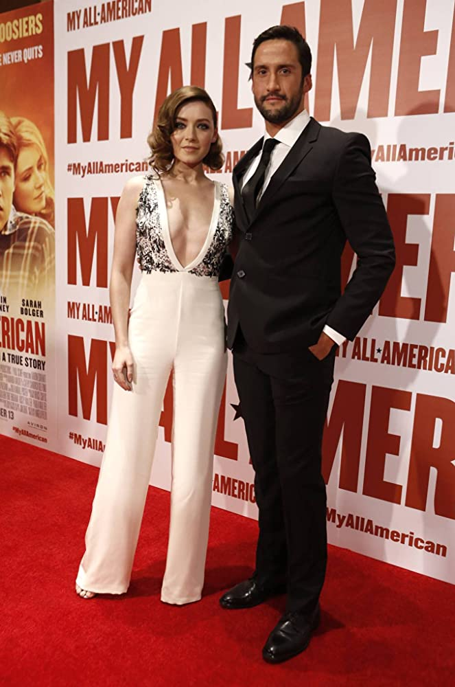 Sarah Bolger And Juston Street At An Event For My All American 2015