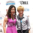 HOLLYWOOD, CA - JUNE 23: Actress Casey Dacanay and actor Nathan Gamble arrive for '25 Hill' - Los Angeles Premiere And Soap Box Race held at American Cinematheque's Egyptian Theatre on June 23, 2012 in Hollywood, California. (Photo by Alber