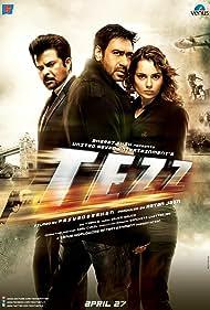 Ajay Devgn, Anil Kapoor, and Kangana Ranaut in Tezz (2012)