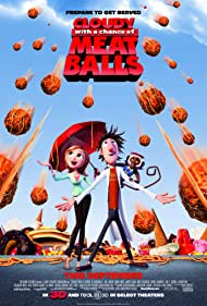 Neil Patrick Harris, Anna Faris, and Bill Hader in Cloudy with a Chance of Meatballs (2009)