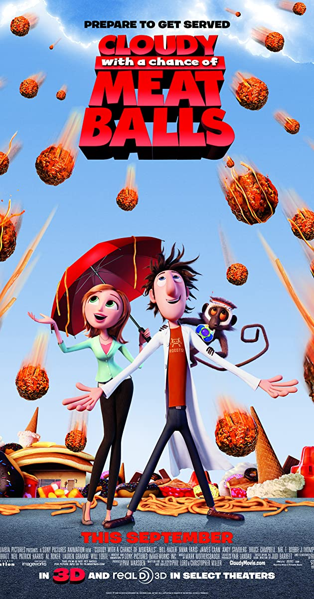 Subtitle of Cloudy with a Chance of Meatballs