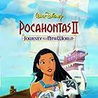 Irene Bedard, John Kassir, Judy Kuhn, and Frank Welker in Pocahontas II: Journey to a New World (1998)