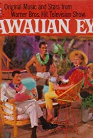 Robert Conrad, Anthony Eisley, Poncie Ponce, and Connie Stevens in Hawaiian Eye (1959)
