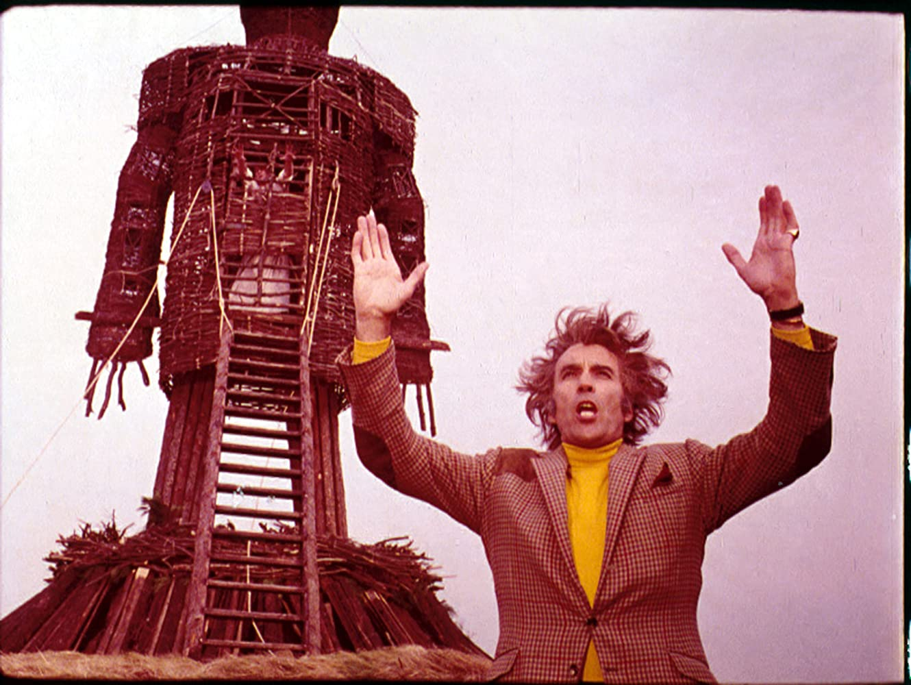 Christopher Lee in The Wicker Man (1973)