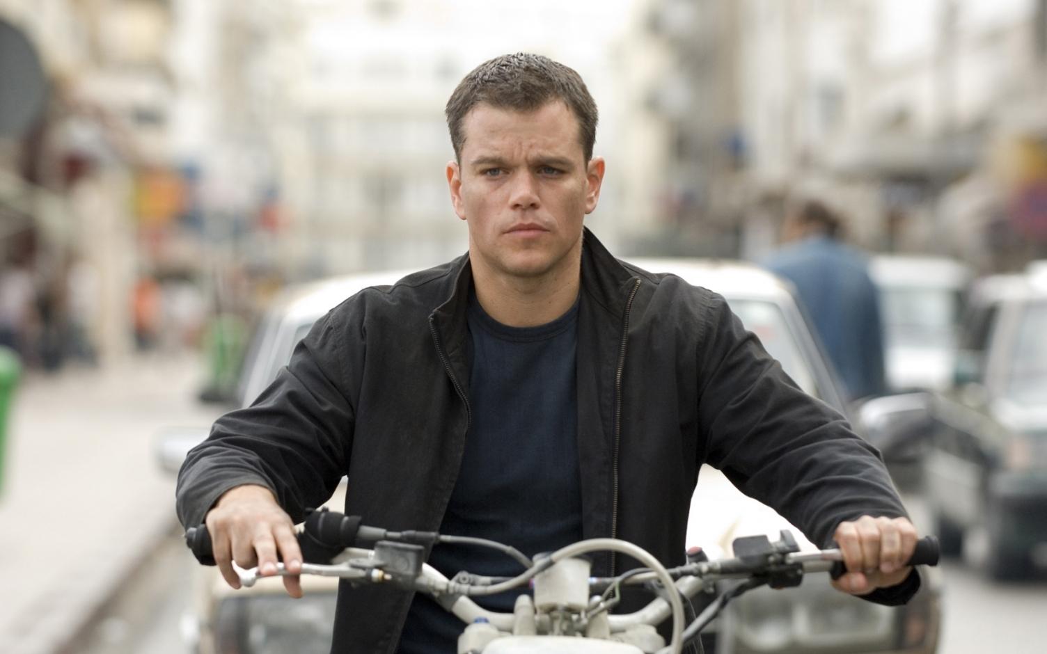 Matt Damon in The Bourne Ultimatum (2007)