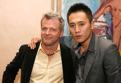 Aidan Quinn and Ye Liu at an event for Dark Matter (2007)