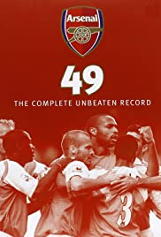 Arsenal 49: The Complete Unbeaten Record Poster