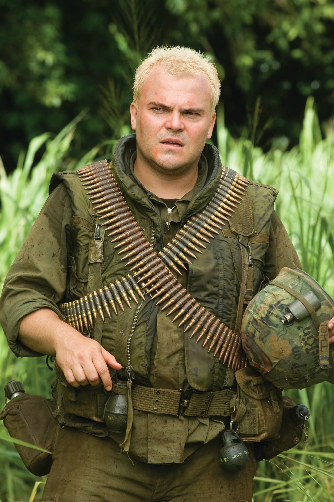 Jack Black in Tropic Thunder (2008)