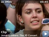 Jonas Brothers: The 3D Concert Experience -- Here is a clip from the movie Jonas Brothers: The 3D Concert Experience.