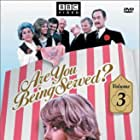 Trevor Bannister, Arthur Brough, John Inman, Wendy Richard, Nicholas Smith, Mollie Sugden, and Frank Thornton in Are You Being Served? (1972)