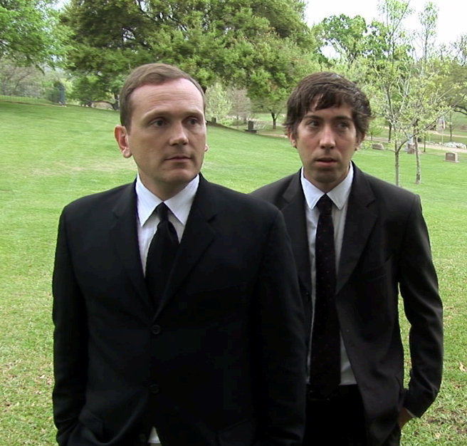 Justin Rice and Pat Healy in Harmony and Me (2009)
