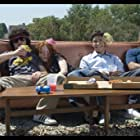 Justin Long, Maria Thayer, Columbus Short, and Adam Herschman in Accepted (2006)