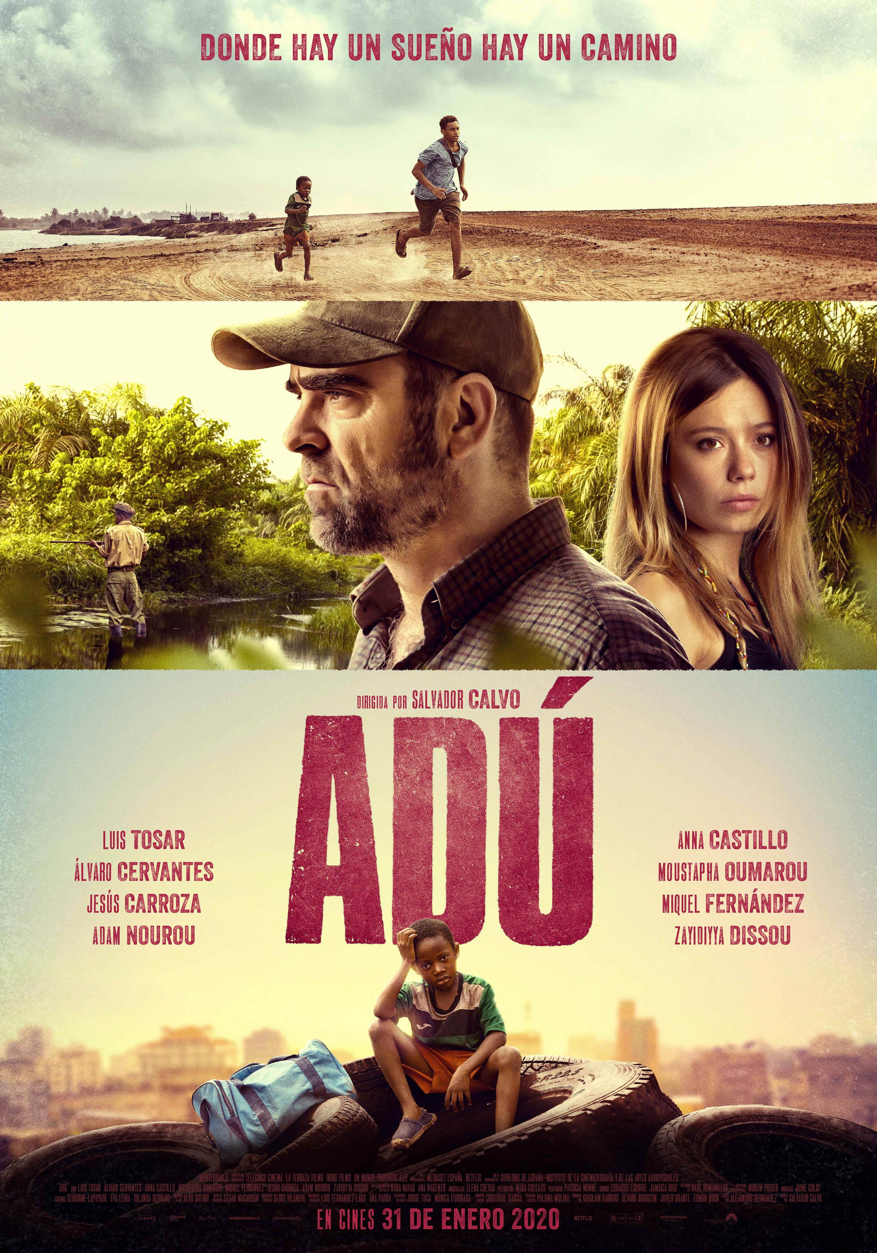 Luis Tosar and Anna Castillo in Adú (2020)
