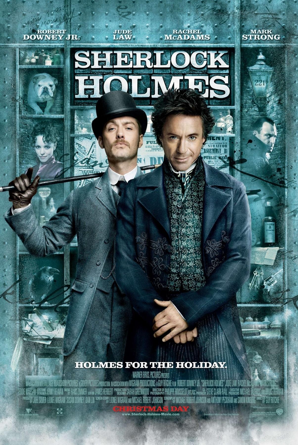 Sherlock Holmes [2009] [1080p BRrip] [Latino-Inglés] [GoogleDrive]