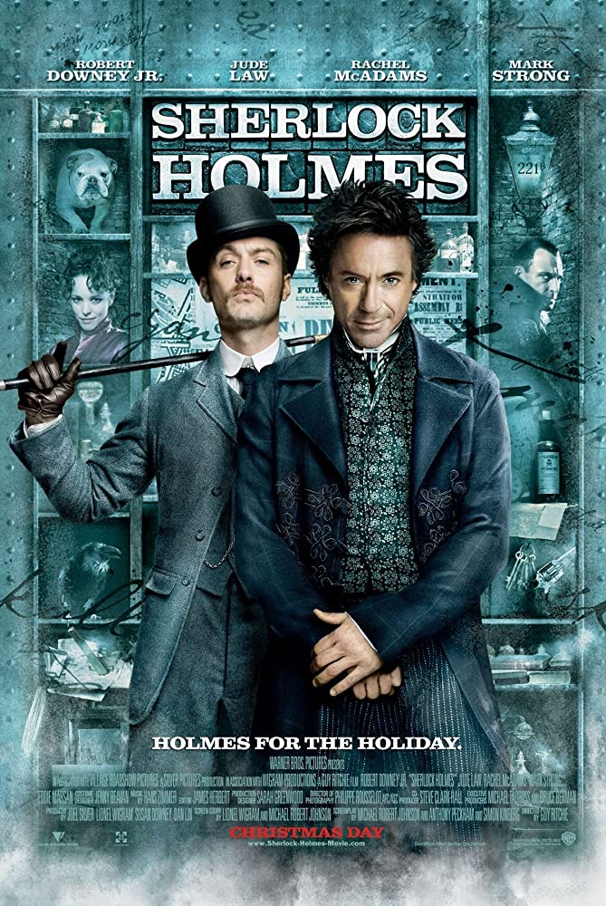 Sherlock Holmes 2009 Hindi Dual Audio 450MB BluRay ESubs Download
