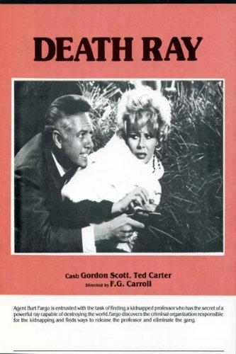 Delfi Mauro and Gordon Scott in Il raggio infernale (1967)