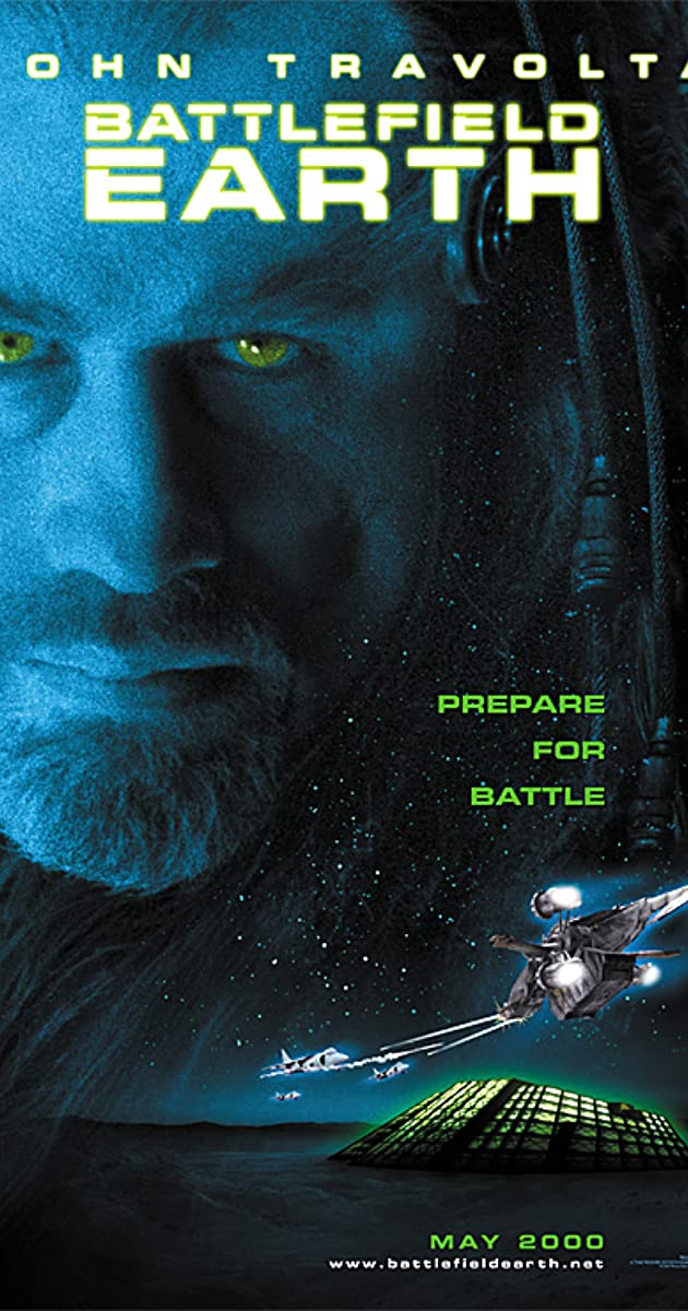 Play or Watch Movies for free Battlefield Earth (2000)