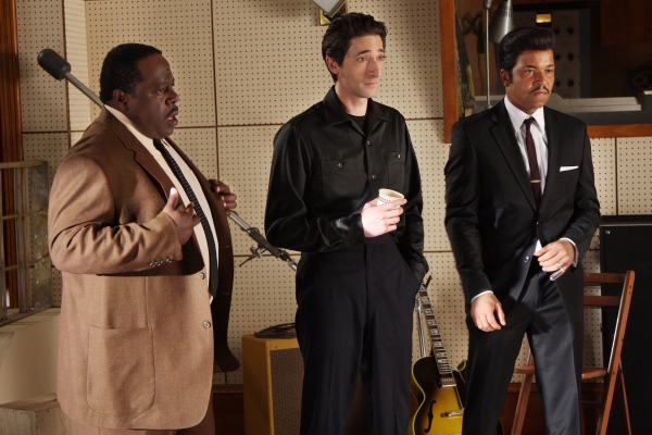 Adrien Brody, Cedric the Entertainer, and Jeffrey Wright in Cadillac Records (2008)