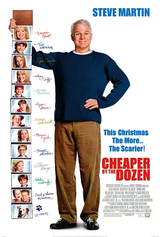 Cheaper by the Dozen (2003) ครอบครัวเหมายกโหลถูกกว่า