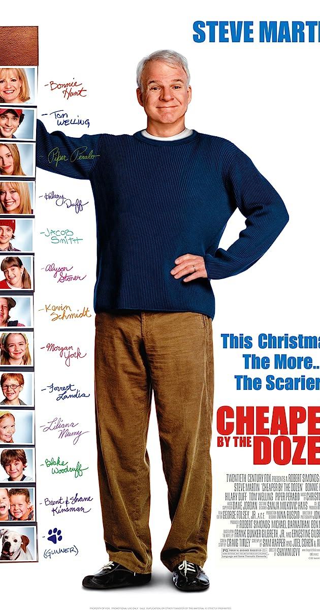 Subtitle of Cheaper by the Dozen