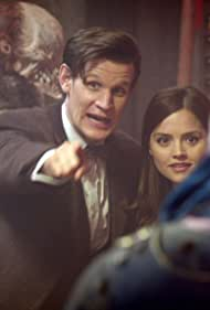 Matt Smith and Jenna Coleman in The Rings of Akhaten (2013)