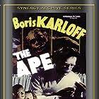 Boris Karloff, Gene O'Donnell, and Maris Wrixon in The Ape (1940)
