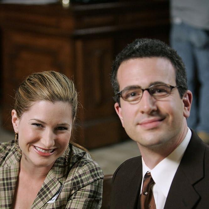 Ethan Sandler and Kathryn Hahn in Crossing Jordan (2001)