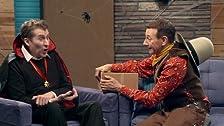 Pee Wee Herman Wears a Halloween Costume