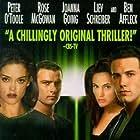 Ben Affleck, Rose McGowan, Liev Schreiber, and Joanna Going in Phantoms (1998)