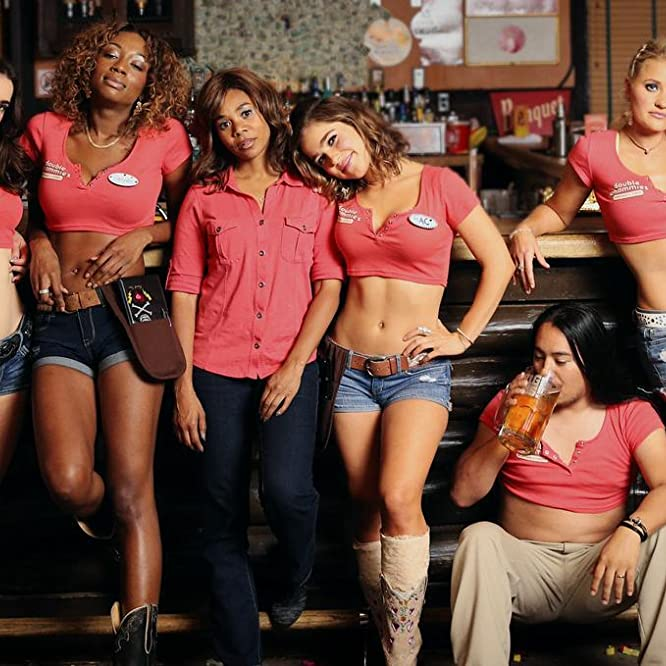 Regina Hall, AJ Michalka, Dylan Gelula, Haley Lu Richardson, John Elvis, and Shayna McHayle in Support the Girls (2018)