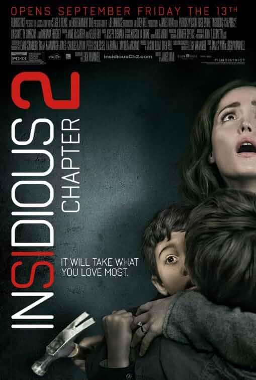 Insidious: Chapter 2 | 2013 | Hindi + English | 1080p | 720p | BluRay