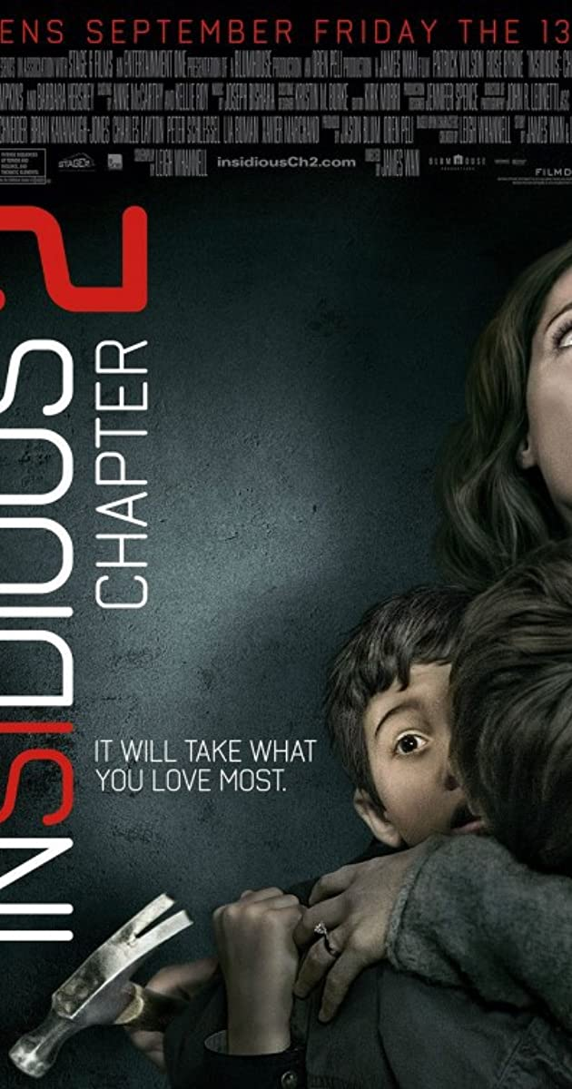 Subtitle of Insidious: Chapter 2