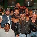 From Top, Left to right...Matt Geiger, Angel Rosado, Mike Alstott, Tony Senzamici,Corbin Timbrook Orestes Destrade, Jim Kelly, & Chidi Ahanotu