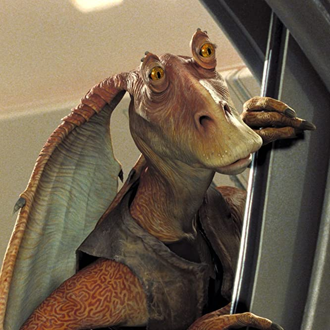 Ahmed Best in Star Wars: Episode I - The Phantom Menace (1999)